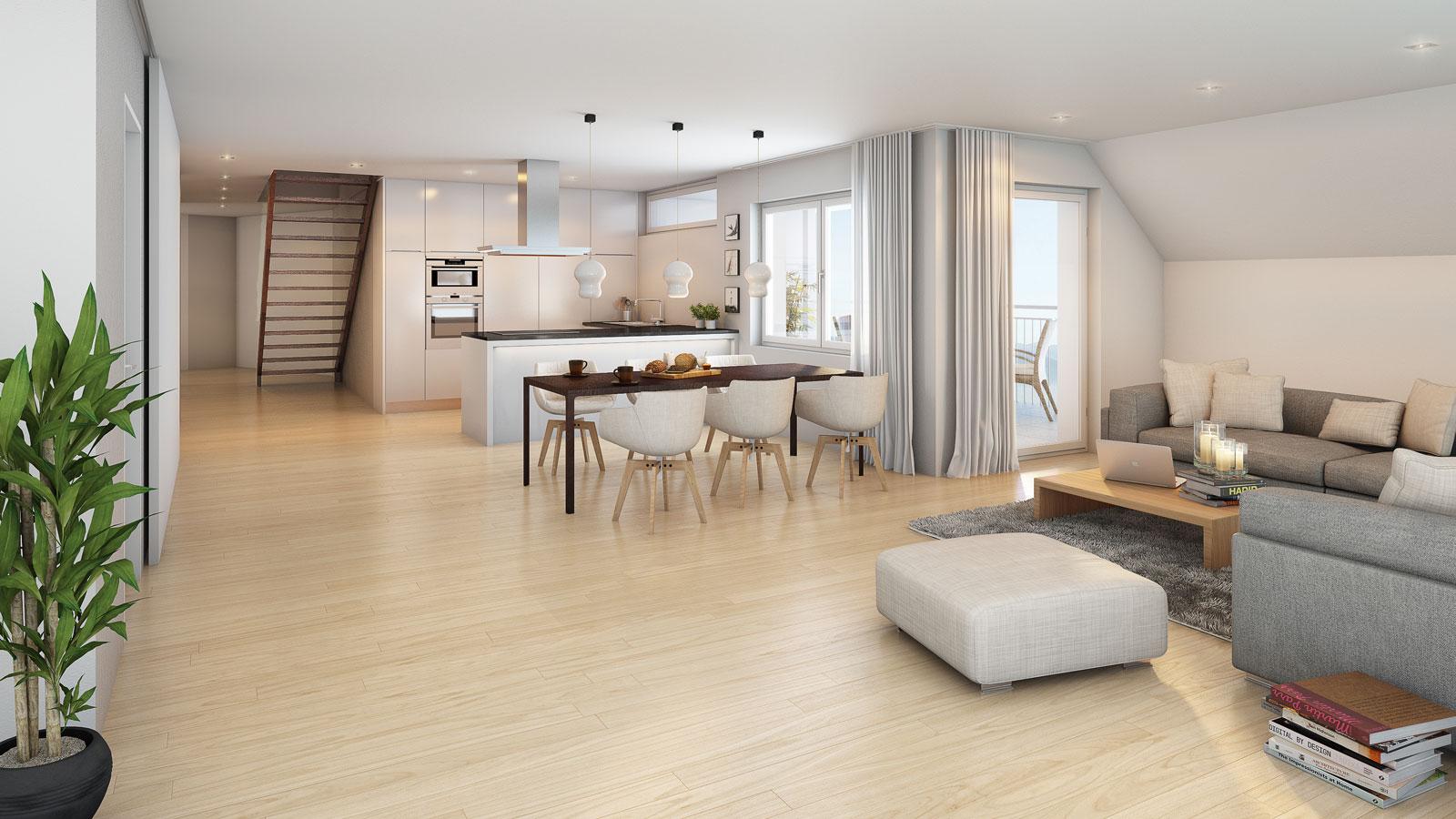 bergblick wohnungen. Black Bedroom Furniture Sets. Home Design Ideas